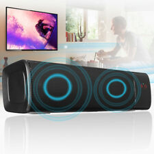Bluetooth Wireless Portable Outdoor Speaker HIFI Super Bass Stereo TF/USB/AUX/FM
