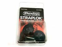 Dunlop Strap Locks - Guitar - Traditional Strap Retainer System Black