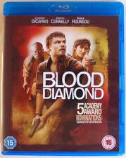 BLOOD DIAMOND - BLU-RAY - LEONARDO DICAPRIO / JENNIFER CONNELLY / DJIMON HOUNSOU