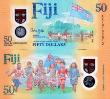 FIJI - 50 dollars 2020 Commemorarive Polymer FDS UNC
