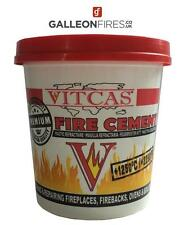 VitCas Premium Fire Cement - 2kg For Fireplaces, Stoves, Boilers, Flue Chinney