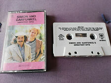 SIMON AND GARFUNKEL GREATEST HITS CINTA TAPE CASSETTE CBS 1974 HOLLAND EDITION