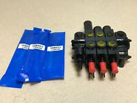 Prince Manufacturing 3 Section Hydraulic Stack Spool Valve Cylinder 16GPM