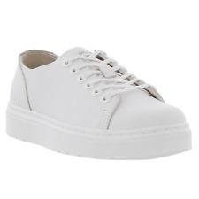Zapatos De Cuero Dr Martens Dante Venecia Blanco Nueva con caja de gastos de envío gratis