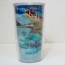 Tervis 16oz Insulated Tumbler | Guy Harvey Turtle and Fish Wrap Around Design