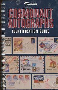 Cosmonaute Autographes Identification Guide Espace Postal Housse Histoire Book