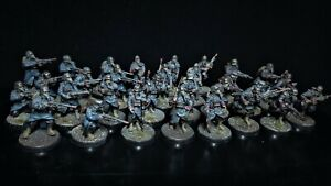 Death Korps of Krieg Infantry Firing Squad + At Ease + Advancing painted pack