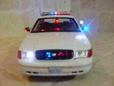 POLICE Alvin, TEXAS TX PD Diecast Car with Lights and SIREN Ut 1/18 Scale