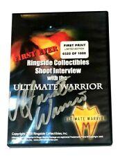 Wwe Die Ultimate Warrior Handsigniert Signiert Limitierte Auflage DVD Mit COA