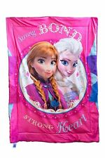 Disney Frozen Strong Bond & Strong Heart Anna & Elsa Soft Baby Sherpa Blanket