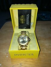 Invicta Automatic Gold Watch New