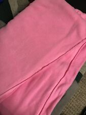 Pink FLEECE FABRIC 105 X 60 New. NO SEW BLANKET CRAFTS