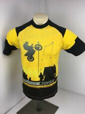 Vintage 90s Nike Gray Tag Youth XL Yellow Jersey Motocross BMX Shirt Yellow