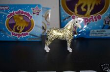 Breyer Mini Whinnies Surprise Florentine Gold Show Pose Draft Whinny Drafter!