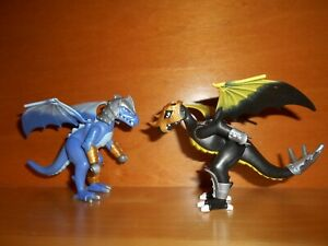Playmobil lot de 2 dragons