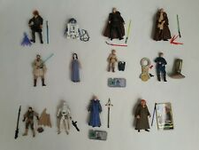 Star wars collection job lot of 12 which all appear complete (A)