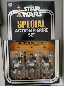 Star wars Vintage Collection Clone Wars 501st Legion Arc Troopers SDCC 2020