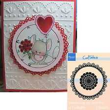 CIRCLE DOILY frames metal die Set CR1201 Marianne Dies wedding,scalloped,lace