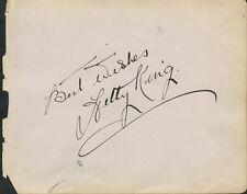 Vintage HETTY KING / Mystery Autographs