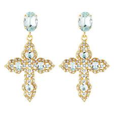 Brand New PETER LANG J Crew Gold Diamonte Crystal Stud Earrings