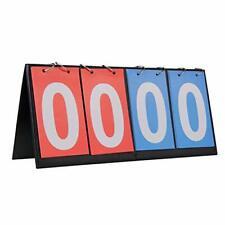Hrlorkc Scoreboard Score Keeper Flipper for Basketball Tennis Sports