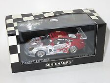 1/43 Porsche 911 GT3 RSR  Flying Lizard  Le Mans 24 Hrs 2005  #80