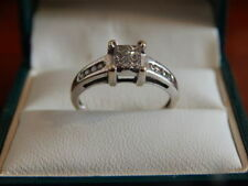 Ernest Jones Princess Fine Diamond Rings
