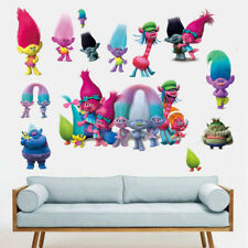 Dreamwork Trolls Wall Decal Kids Gift  Bedroom Nursery PVC Sticker DIY 60x90cm