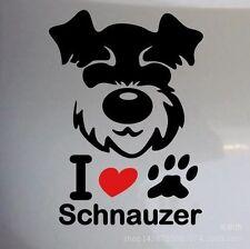 Cute Animal Car Stickers Schnauzer Dog Car Stickers