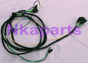 HOLDEN HQ HJ H4 SINGLE HEADLIGHT and wiper WIRING HARNESS