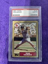 1987 Tom Seaver Topps #425 PSA 9 checkout other auctions