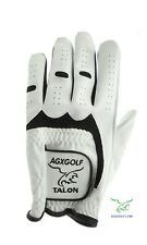 10 PK AGXGOLF MENS CABRETTA LEATHER XX-LARGE GOLF GLOVES MLH RIGHT HAND GOLFERS