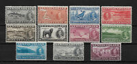 Newfoundland Scott # 233-243 set-2 F-VF NH scv $ 61 ! nice colors ! see pic!