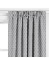 John Lewis Albany Bespoke Pencil Pleat Curtains Smoke W190cm x D210cm RRP £382