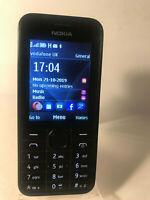 Nokia 208 - Black (Vodafone Network) Mobile Phone