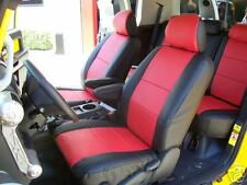 TOYOTA FJ CRUISER 2007-2014 IGGEE S.LEATHER CUSTOM FIT SEAT COVER 13COLORS