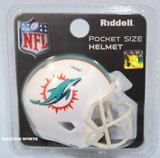 MIAMI DOLPHINS - Riddell SPEED Pocket Pro Mini Helmet (2018)