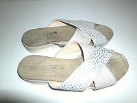 3-10,5 Holz-Sandale weiß Gr Berkemann Original-Sandale 0100-100