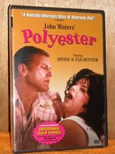 Polyester (DVD, 2004) John Waters film Divine Tab Hunter Edith Massey NEW comedy