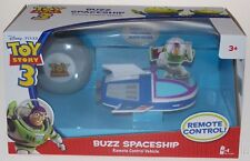Disney Pixar Toy Story 3 Buzz Lightyear Spaceship Remote Control Vehicle Action