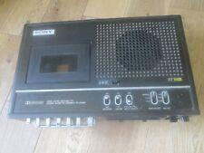 More details for vintage 1975 sony tc-153sd portable cassette recorder