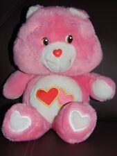 "Love A Lot Care Bear by Carlton Cards 16"" plush"