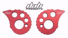Ensayos Bicicleta Caracol CAMS 17 mm Eje Trasero ajustadores de cadena de productos DAB Rojo SJ1076
