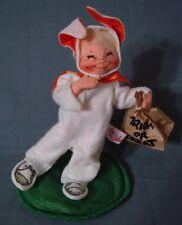 "Annalee Bunny Kid Doll 1991 Halloween 7"" Trick or Treat"