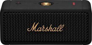 Marshall - Emberton Portable Bluetooth Speaker - Black & Brass