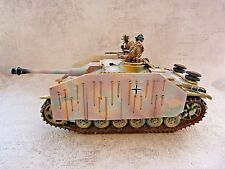 Collector Showcase retired - Tank Char Sturmgeschutze IIIG - Pour figurines 65mm