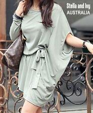 Cotton Blend Tunic Machine Washable Dresses for Women