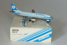 """Schabak Boeing 737-329 Sabena 2nd version """"1980s"""" colors in 1:600 scale"""