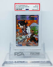 Pokemon STEAM SIEGE FULL ART PROFESSOR SYCAMORE #114 PSA 10 GEM MINT #28314315