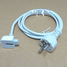 Europe EU AC Power Adapter Extension Cable cord for apple macbook pro charger